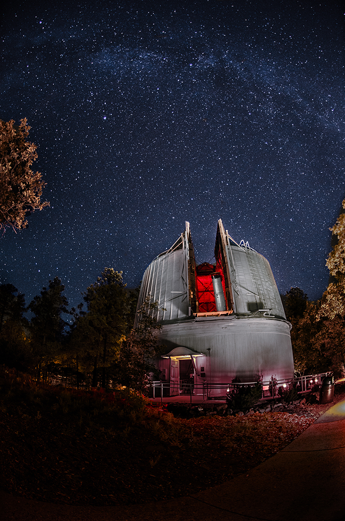 Flagstaff S Lowell Observatory Night And Day