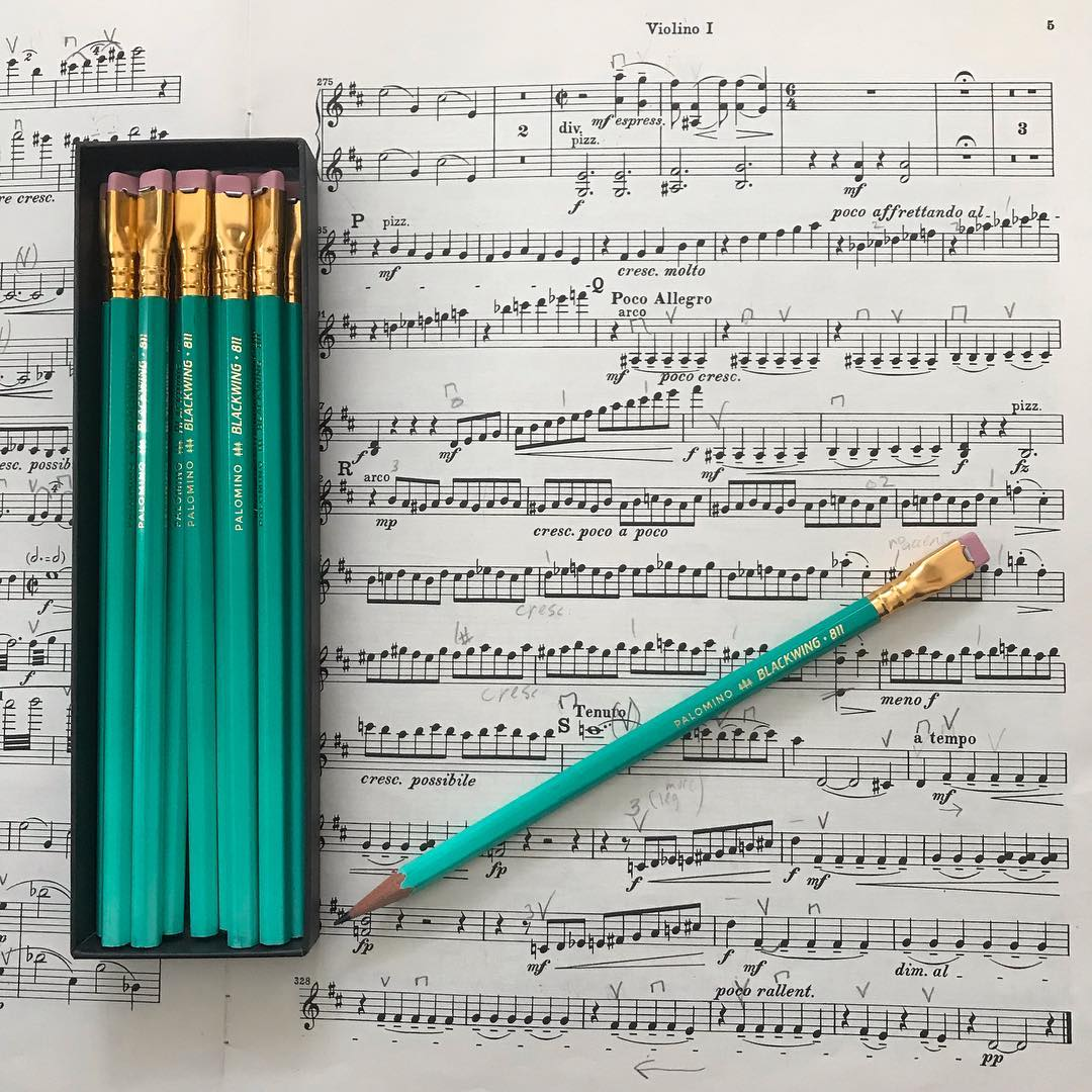 Blackwing 811 Glow in the Dark Pencils by Palomino Limited Edition