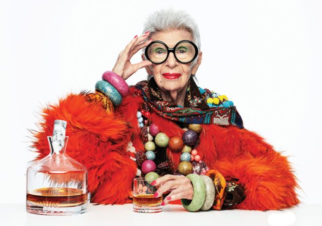 Iris Apfel X Nude Glass Collab