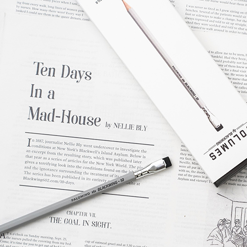 10 Limited Edition Journalism Pencil Blackwing