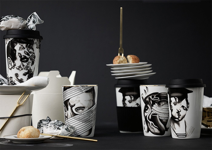 The Cilla Marea Collection by Pietro Sedda for Rosenthal